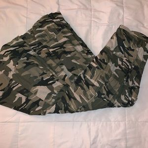 Charlotte Russe long Army fatigue skirt